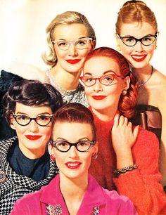 fef82ffa17  vintage  eyewear  Showroom Cat Eye Glasses