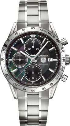 Tag Heuer Carrera - Black Face Chrono