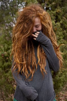 Image discovered by caleidoscope. Find images and videos about redhead, ginger and dreads on We Heart It - the app to get lost in what you love.