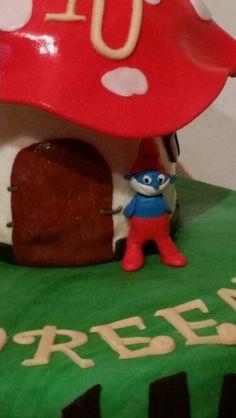 Papa - Schlumpf-Torte