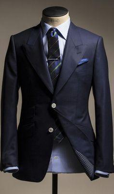 Nice☆Men's Suit Blues