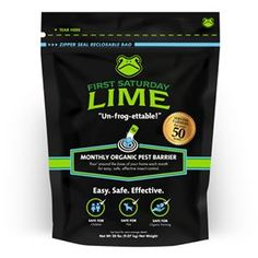 First Saturday Lime.  Healthy alternative to pesticide.  safe for children, safe for pets, safe for organic farming.  all nature non-toxic