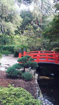 Descanso Garden // La Cañada Flintridge, CA Garden Bridge, Canada, Outdoor Structures, River, Rivers