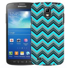 Samsung Galaxy S4 Active Chevron Nebula Black Slim Case