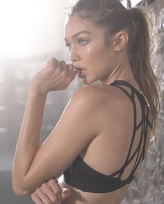 Gigi hadid for Reebok's #PerfectNever Campaign