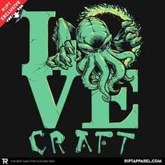 519adaa00 114 Best Cthulhu Tees images in 2019 | Hp lovecraft, Cthulhu ...