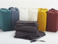 Organic Jersey Sheet Sets by Coyuchi