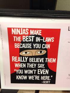 Ninja in-law