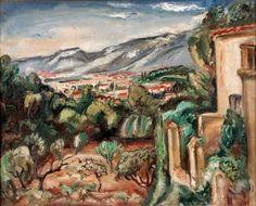 Emile-Othon FRIESZ (1879-1949) Paysage de Toulon