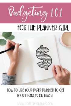 Budgeting 101 for the Planner Girl: How to use your paper planner to map out your money and get your finances on track. And get out of debt! Savings Planner, Budget Planner, Cash Envelope System, Printable Planner Pages, Create A Budget, Budgeting Finances, Debt, Saving Money, Track