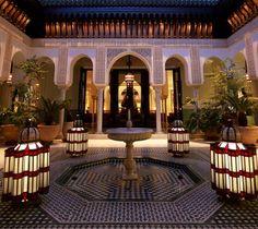 Hotel La Mamounia, Marrakech, Morocco