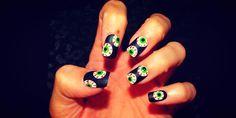 21 Sencillos diseños para por fin decorar tus uñas en Halloween