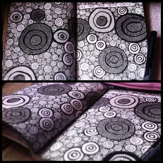 wreck this journal: fill this page with circles doodle | Flickr - Photo Sharing!