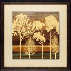 'Ambiance I' by Chris Donovan Framed Painting Print