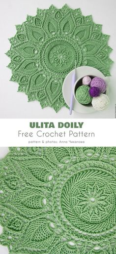 Most up-to-date Images thread Crochet Doilies Concepts Ultra Doily Free Crochet Pattern Filet Crochet, Mandala Au Crochet, Crochet Doily Rug, Free Crochet Doily Patterns, Crochet Dollies, Crochet Motifs, Manta Crochet, Crochet Home, Thread Crochet