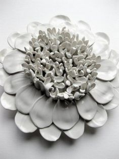 No. 1 dahlia wall sculpture