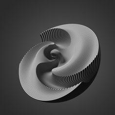 Kugeln by Christoph Bader, via Behance