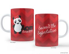 AOII Alpha Omicron Pi Panda Exceed the by BoutiqueGreek on Etsy, $16.50