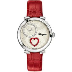 Salvatore Ferragamo Beating Heart Watch