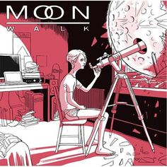 Japanese CD cover - Monobright 'Moon Walk'. Sitting pose