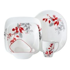 f1ef3e0b149ca1 Buy Corelle Boutique Cherish 42 Piece Dinnerware Set at online store