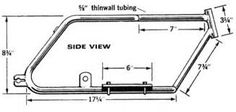 Image result for mini bike frame