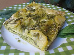 Try this Green variation of Lasagna. It is simply delicious