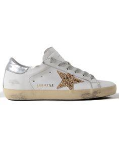 GOLDEN GOOSE | Golden Goose Golden Goose Sneakers Superstar Gold Glitter #Shoes #Sneakers #GOLDEN GOOSE
