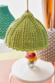 IKEA Hackers: Crochet Seashell Lamps | Knittinu0027 U0026 Crochetinu0027 | Pinterest |  Yarns, Color Combos And Crochet Lampshade