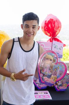 """You've seen him grace the dance floor on Dancing with the Stars, and shine on Disney's Shake it Up and here he is, handsome as ever with our lovely Chiffon. Roshon is truly a versatile character. Check out his own original music now on Itunes- """"Got Like Me"""" and """"Top Of The World."""""""