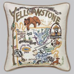 Another fantastic pillow (They have many states and cities)