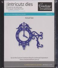 COUTURE CREATIONS GLAMOUR DAYS COLLECTION ~ ANTIQUE CLOCK ~ NEW ARRIVAL