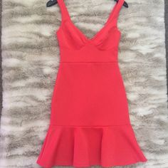 Gorgeous & Sexy red date night dress!  Sexy date night dress is fun red color with RaRa skirt! Small or medium available! Apricot Lane Dresses Mini