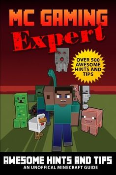 Over 500 Awesome Hints & Tips - MineGuides: An Unofficial Minecraft Guide (Gaming Expert - Unofficia @ niftywarehouse.com #NiftyWarehouse #Minecraft #Geek #Gaming #VideoGames