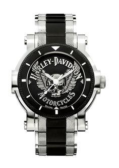 BigBen - Relógio masculino Bulova Edição especial Harley Davidson RBKC9966 R$899,00