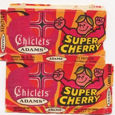 Chicle Adams Supercherry - Cuando era Chamo - Recuerdos de Venezuela