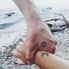 Cute Mr. and Mrs. Tattoos for Perfect Couples - 15
