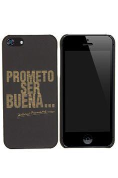 Carcasa 'Prometo ser buena' iPhone 5