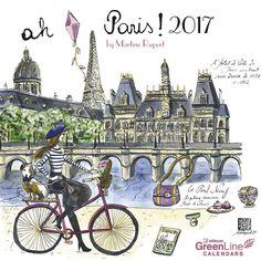 Paris by Rupert Martine Mini Calendar 2017