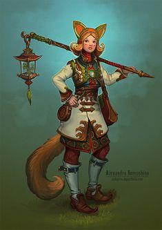 Foxy by Sedeptra.deviantart.com on @deviantART