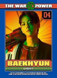 Baekhyun. <3 Really evil villian looking for the Power concept. I love it.