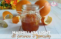 Marmellata+light+di+arance+e+zenzero