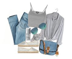 """""""71256"""" by b-maya ❤ liked on Polyvore featuring American Eagle Outfitters, Topshop, Madewell, River Island, MICHAEL Michael Kors, Tiffany & Co., Olivia Burton and Christian Dior"""