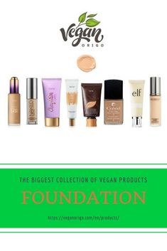 Make your make up perfect with vegan beauty products