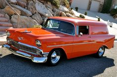 1956 Chevrolet Sedan Delivery....Re-pin...Brought to you by #HouseofInsurance for #CarInsurance Eugene, Oregon