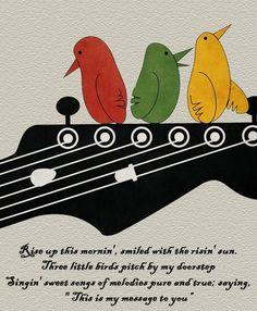 Bob Marley - Three Little Birds lyrics