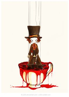 Madness In the Tea - Mad Hatter by *j-b0x on deviantART