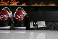 b104b6cad3b9 Latest Air Jordan 3 Retro Tinker AQ3835-160 Womens Sneakers Black White Grey