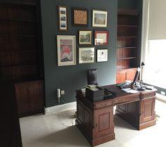 Stained Mahogany Office Libarey