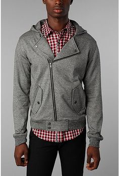 great sweater with an angled line!